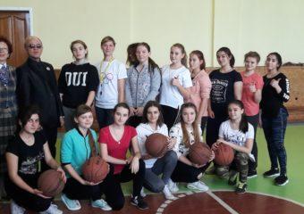 Открытый урок «Баскетбол»